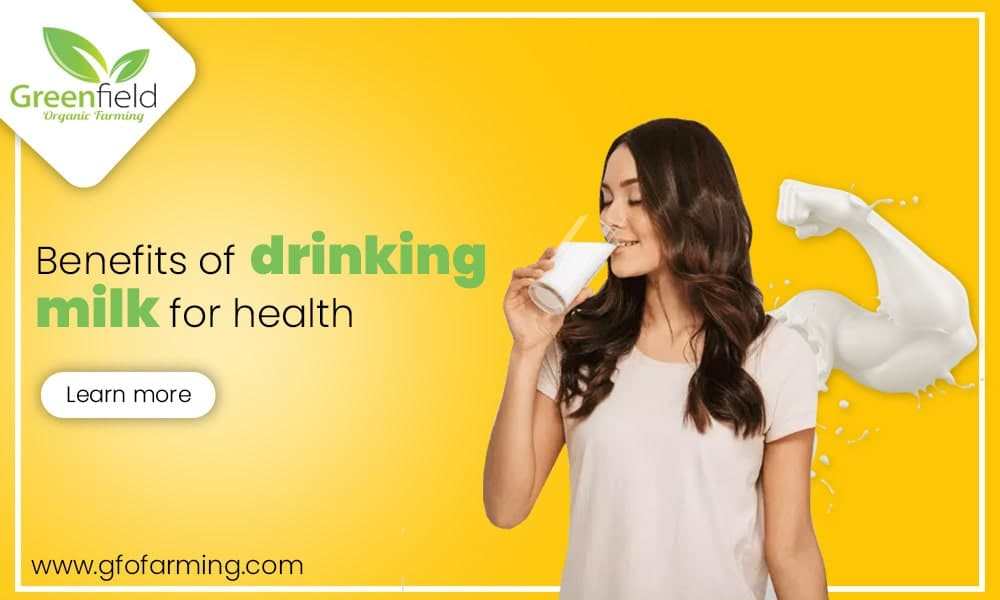 Benefits of Drinking Milk for Health